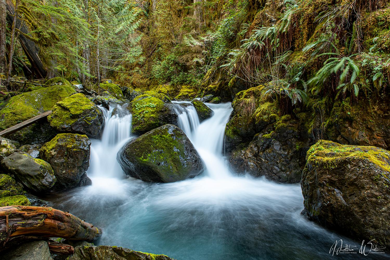 Upper Lena Creek Falls